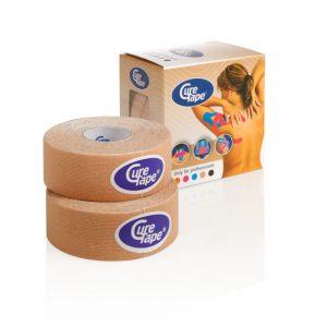 Cure Tape 500 x 2,5 cm beige