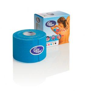 Cure Tape 500 x 5 cm blau