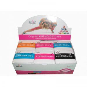 Nasara Kinesiology Tape 500 x 5 cm BOX