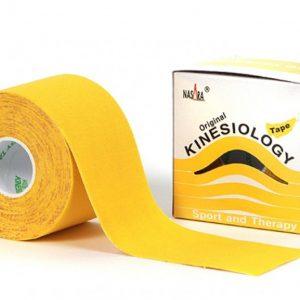 Nasara Kinesiology Tape 500 x 5 cm gelb