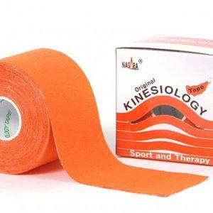 Nasara Kinesiologie Tape  500 x 5 cm orange